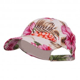 Low Profile Cotton Floral Cap