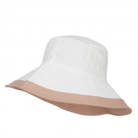 Reversible Solid Color Bucket Hat