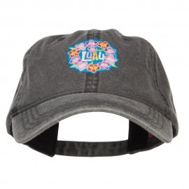 LUAU Hawaiian Patched Washed Cap