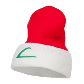 Ash Ketchum League Expo Embroidered Cuff Beanie