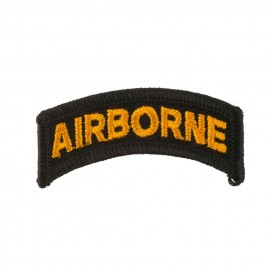 Mixed Airborne Patches - Black