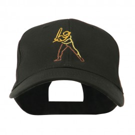 Men's Baseball Outline Embroidered Cap