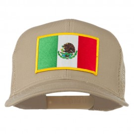Mexico Flag Patched Mesh Cap
