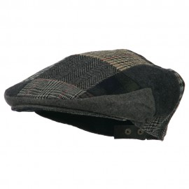 Men's Patchwork Ivy Cap