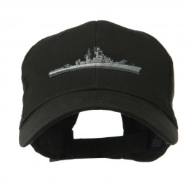 Navy Ship Missile Embroidered Cap