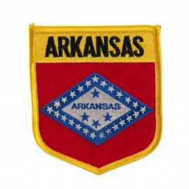Mid State Flag Embroidered Patch Shield