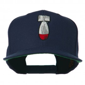 Missile Flat Bill Embroidered Baseball Cap