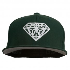 Big Diamond Outline Embroidered Flexfit Cap
