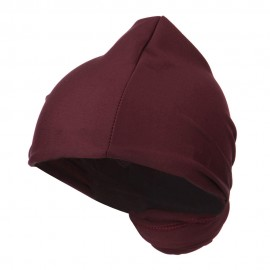 Magic Long Head Wrap - Burgundy
