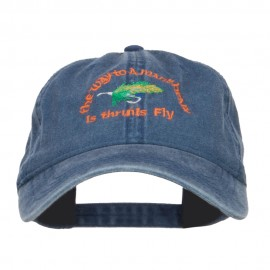 Man Heart His Fly Embroidered Mesh Cap