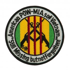 POW MIA Military Large Patch