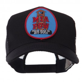 Pow Mia Embroidered Military Patched Mesh Cap