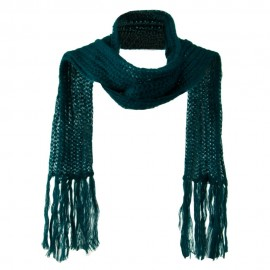 Ladies Mohair Knit Scarf