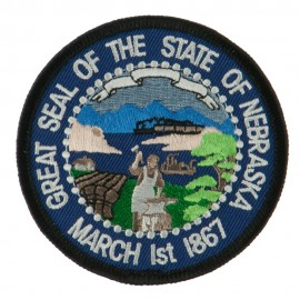 Mid State Seal Embroidered Patch