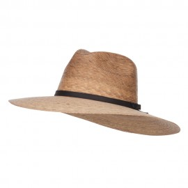 Men's Palm Braid Safari Hat - Dk Palm