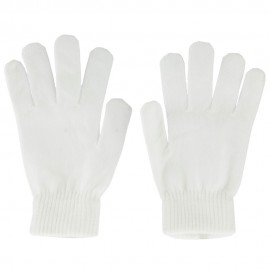 Large Men's Magic Gloves-White