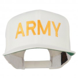 Army Military Embroidered Snapback Cap