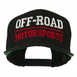 Off Road Motorsports Embroidered Snapback Cap - Black