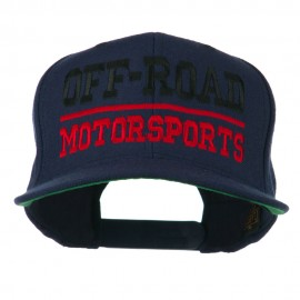 Off Road Motorsports Embroidered Snapback Cap - Royal
