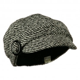 Muffy Patterned Newsboy Cap