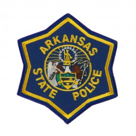 Mid State Police Embroidered Patches