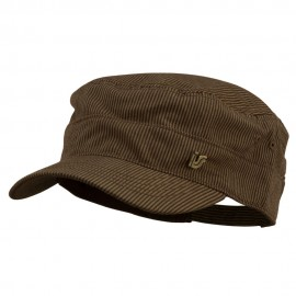 Men's Pinstripe Adjustable Fidel Cap