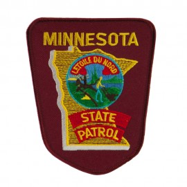 Mid State Police Embroidered Patches - MN State