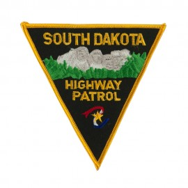 Mid State Police Embroidered Patches - SD Hwy