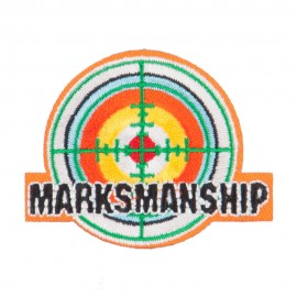 Marksmanship Embroidered Patches