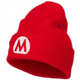 Mario Luigi Wario Waluigi Embroidered Long Beanie