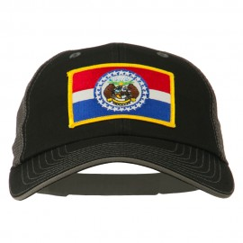 Big Mesh State Missouri Patch Cap