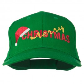 Merry Christmas Santa Hat Embroidered Cap