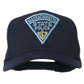 Massachusetts State Police Patch Cap - Navy