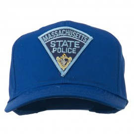 Massachusetts State Police Patch Cap - Royal