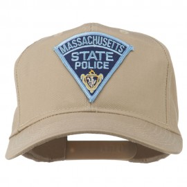 Massachusetts State Police Patch Cap