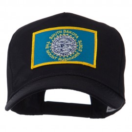 USA Mid State Embroidered Patch Cap - South Dakota