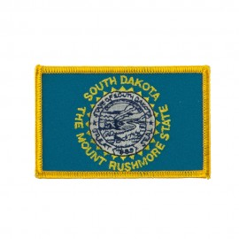 Middle State Embroidered Patches - South Dakota
