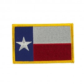 Middle State Embroidered Patches - Texas