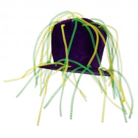 Mardi Tall Hat with Crazy Tube