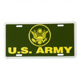 US Military 3D License Plates