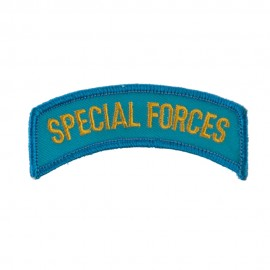 Military Related Text Embroidered Patch - Special Forces
