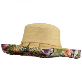 Paper Matte Fashion Roll Up Hat