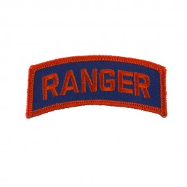 Military Related Text Embroidered Patch - Ranger