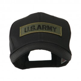 Military Related Text Embroidered Patch Cap - Army