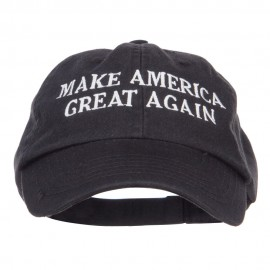 Make America Great Again Embroidered Low Cap