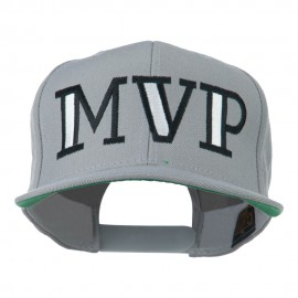 MVP Embroidered Flat Bill Cap