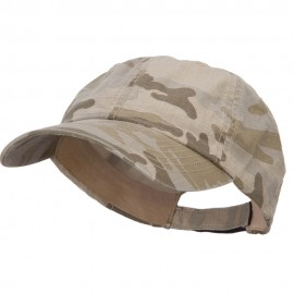 Faded Camo Washed Cotton Cap - Desert Camo