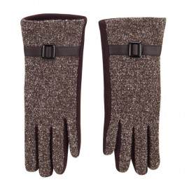 Women's Tweed Texting Fingers Glove