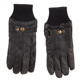 Men's Texting Leather Glove