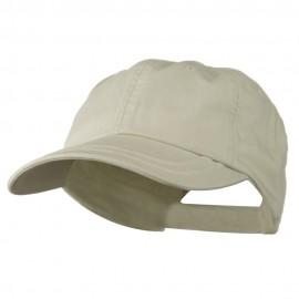 Low Profile Normal Dyed Cotton Twill Cap - Khaki